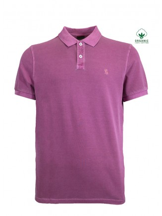 Purple Organic Cotton  Shirt