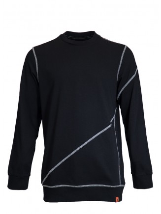 Oversize Black Sweatshirt