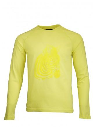 Yellow Zebra Sweatshirt