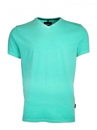 V Neck Mint T-Shirt