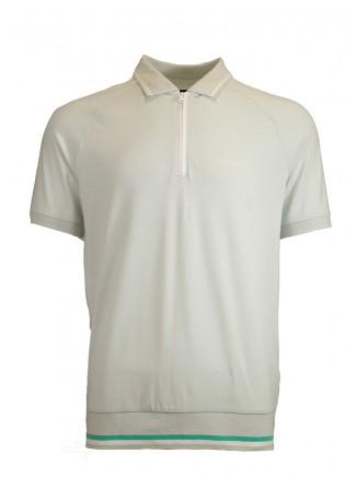 Grey Creative Polo Shirt