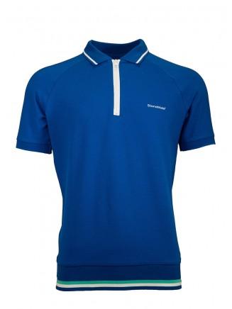 Blue Creative Polo Shirt