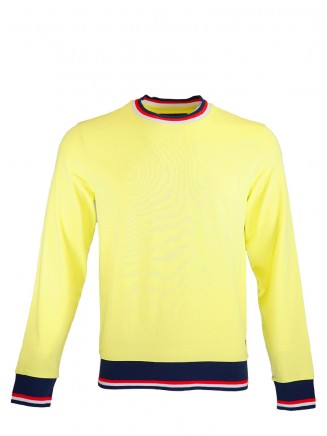 Yellow Sweatshirt With Patch