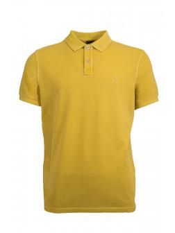 Mustard Organic Cotton Polo Shirt