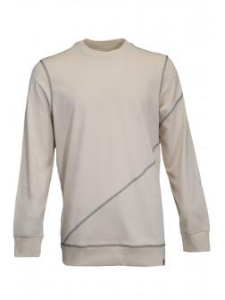 Oversize Ecru Sweatshirt