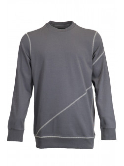 Oversize Grey Sweatshirt