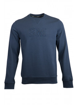 Navy Blue SM Sweatshirt