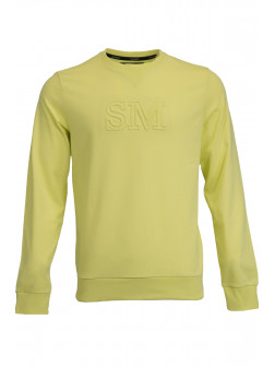 Yellow SM Sweatshirt