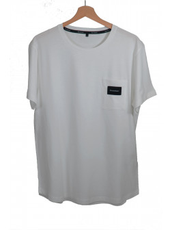 Pocket Light Grey T-Shirt