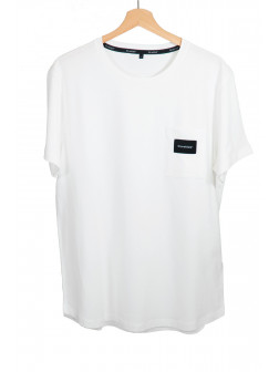 Pocket White T-Shirt