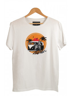 Born To Surf White T-Shirt