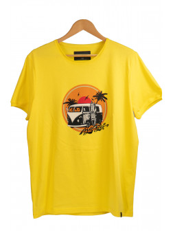 Born To Surf Yellow T-Shirt