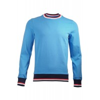 Blue Sweatshirt With Patch